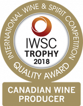 Canadian Wine Producer Of The Year Trophy 2018