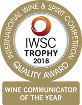Wine Communicator Of The Year Trophy 2018