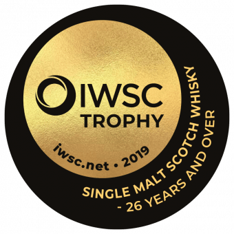 Single Malt Scotch Whisky 26 Years And Over Trophy 2019
