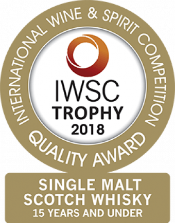 Single Malt Scotch Whisky 15 Years And Under Trophy 2018
