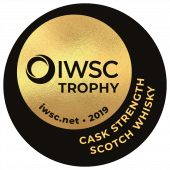 Cask Strength Single Malt Scotch Whisky Trophy 2019