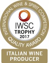 Italian Wine Producer Of The Year Trophy 2017