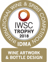 Wine Artwork And Bottle Design Trophy 2018