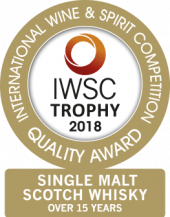 Single Malt Scotch Whisky Over 15 Years Old Trophy 2018