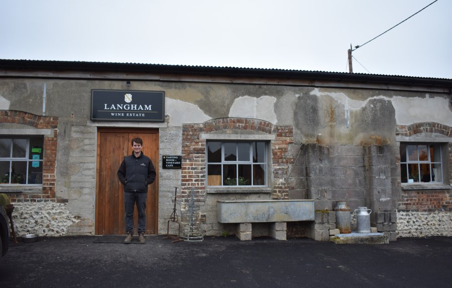 Meet the maker: Tommy Grimshaw, Langham Wine Estate