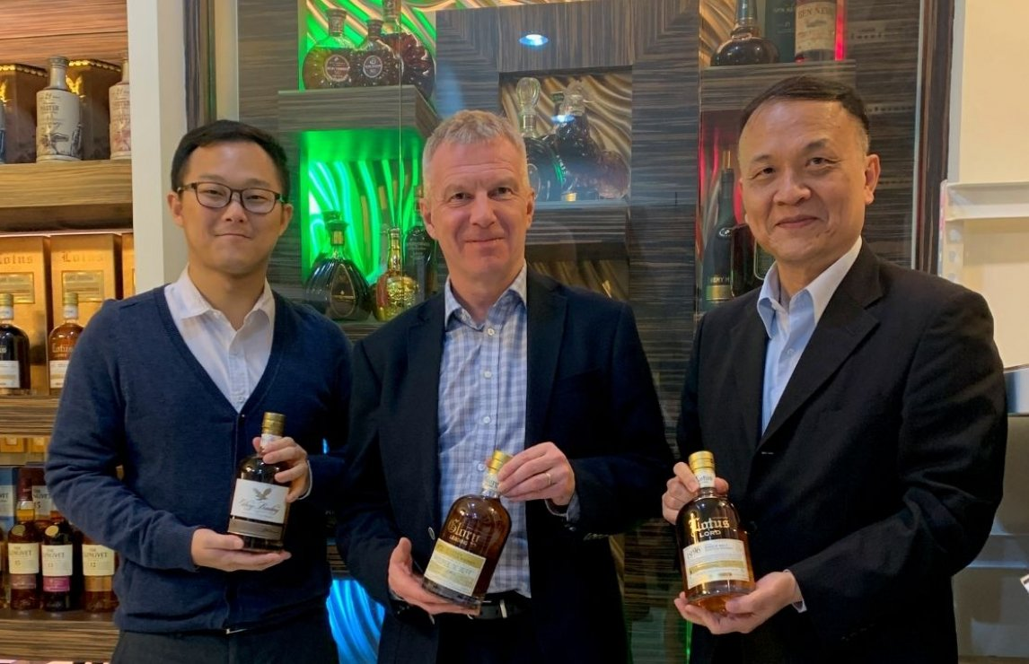 Blended Scotch Whisky Trophy Winner 2020: Glory Leading International
