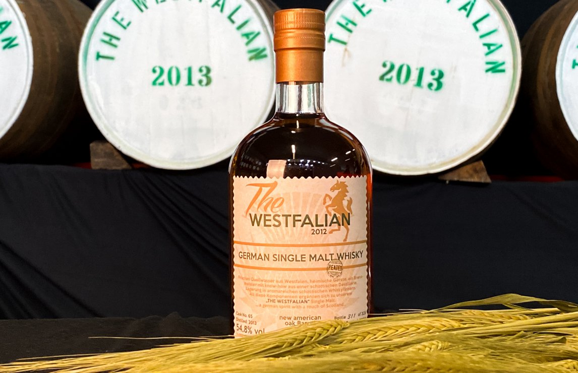 Worldwide Whiskey Trophy 2020: The Westfalian Peated 6-Year-Old Single Malt