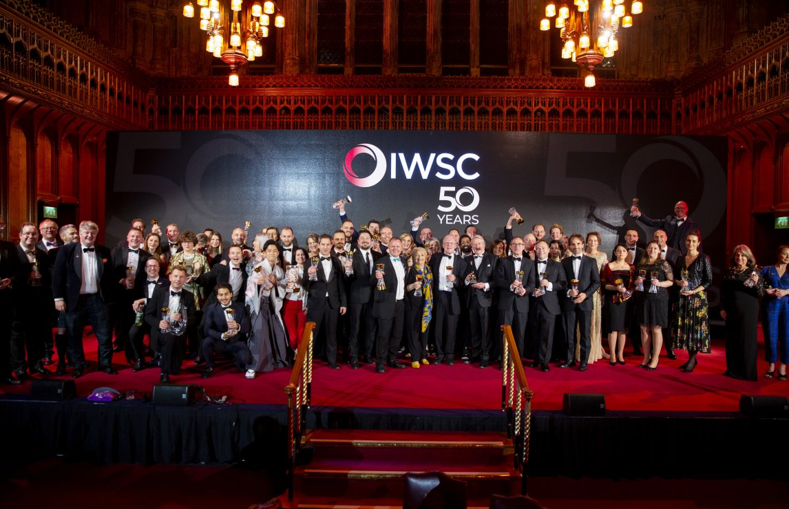 IWSC rocks at 50th anniversary awards gala