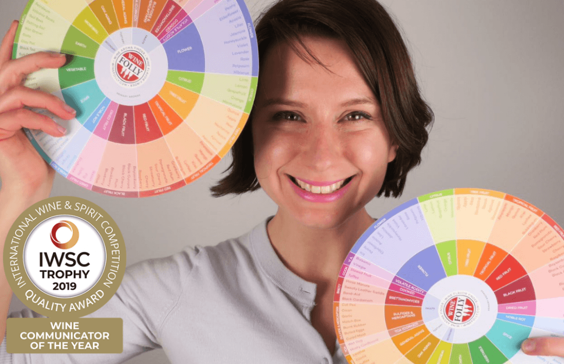 Wine Folly co-founder Madeline Puckette unveiled as IWSC Wine Communicator of the Year