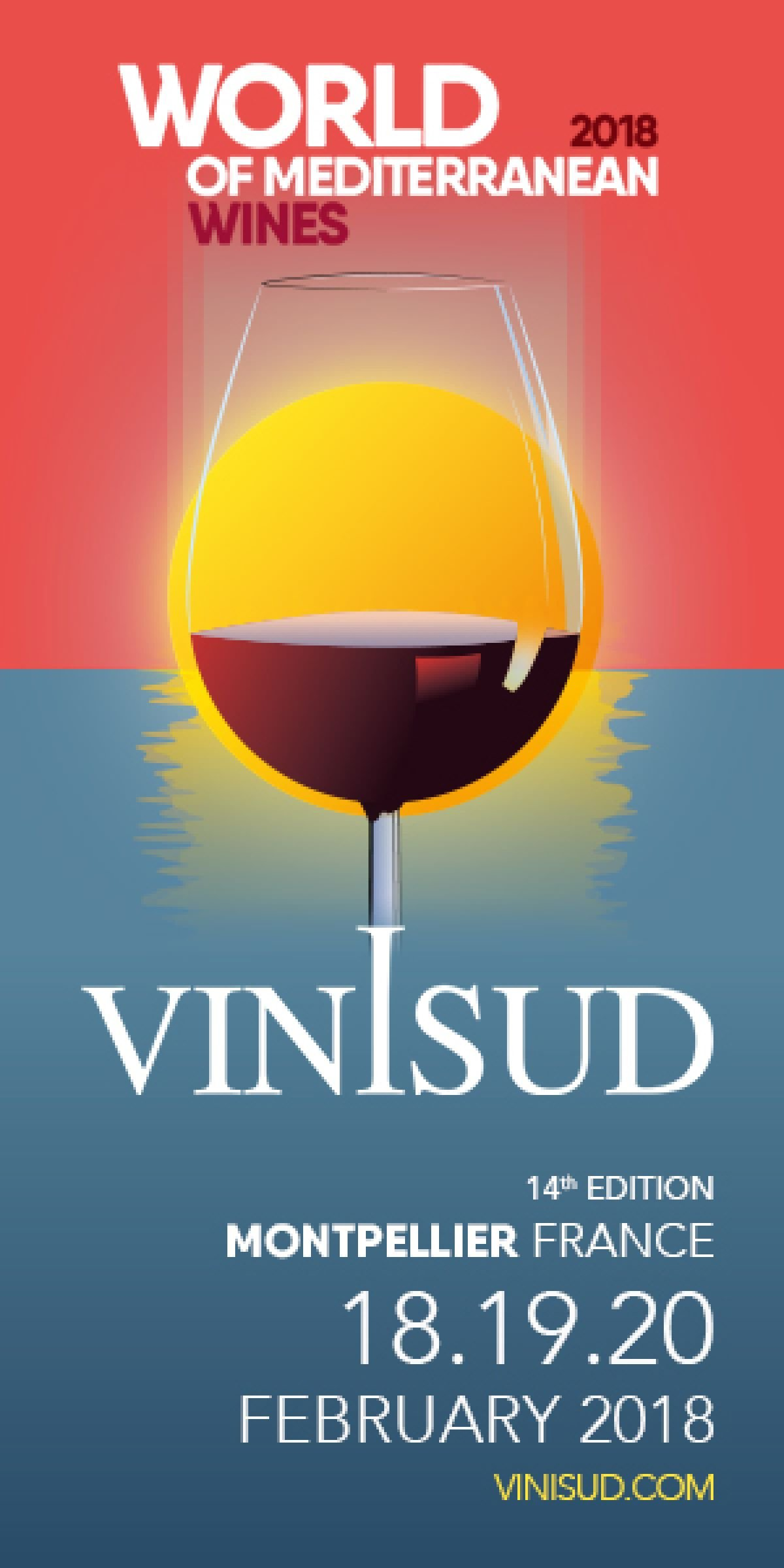 Take your place at Vinisud 2018