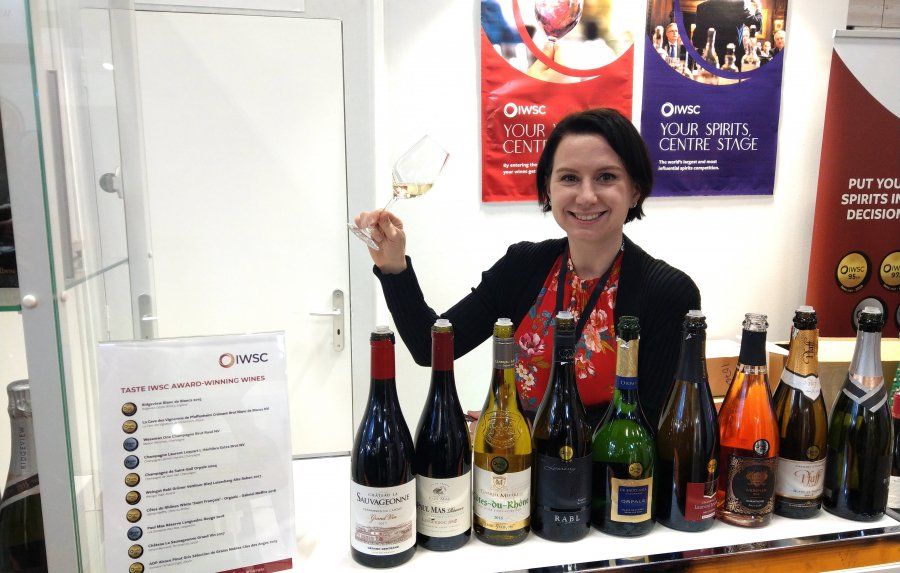 Top-rated IWSC wines showcased at Wine Paris
