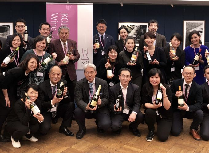 Koshu wine on the rise