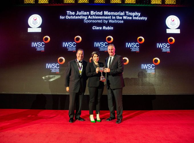 Clara Rubin: Outstanding Achievement in the Wine Industry