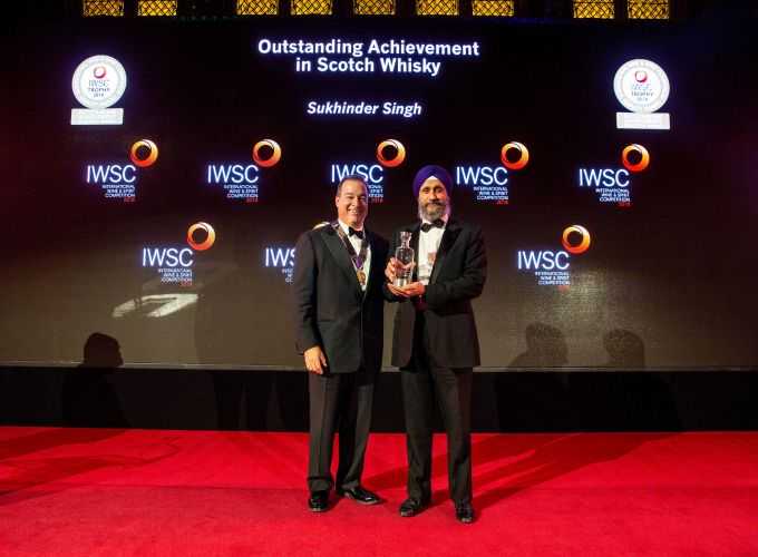 Sukhinder Singh: Outstanding Achievement in Scotch Whisky