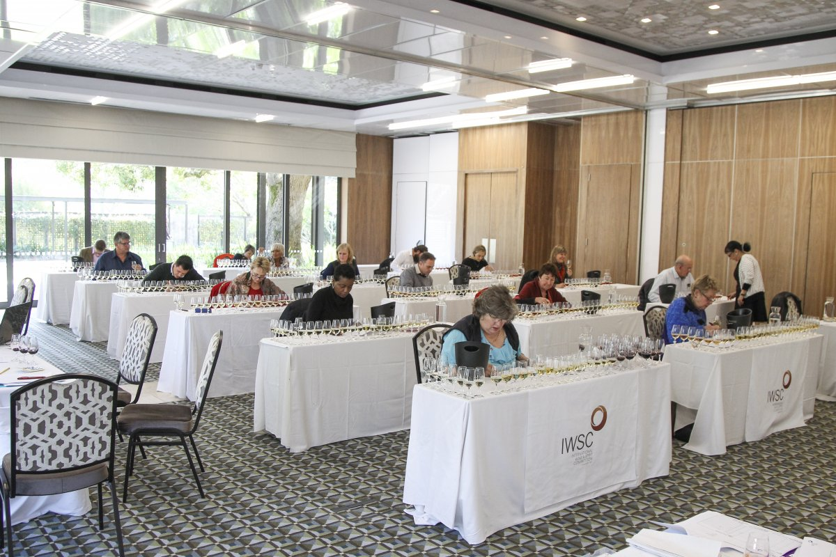IWSC judging in South Africa
