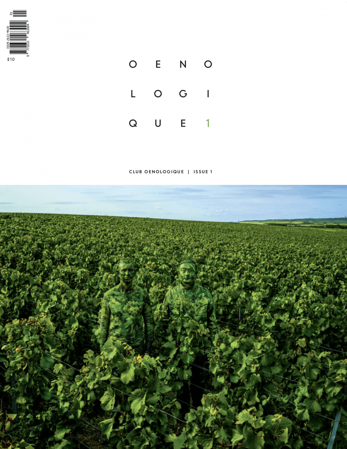 Club Oenologique issue 1 cover